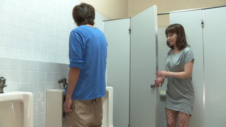 Snazzy asian Riho Mikami is sucking my dick