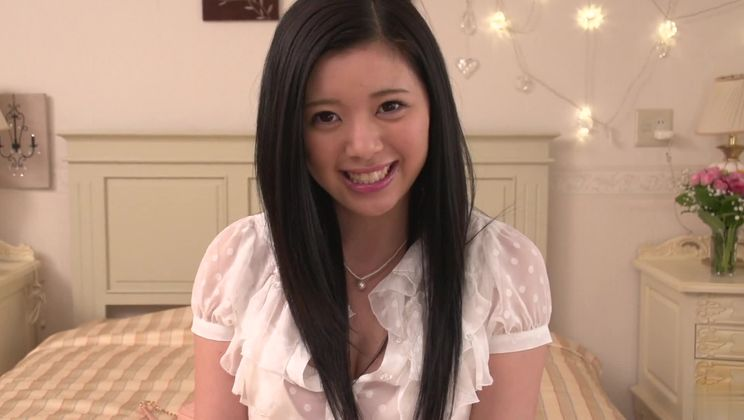 Unearthly oriental Risa Shimizu in real hard fuck video