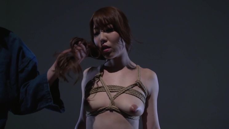 Lovely Japanese Rina Uchimura featuring bondage XXX video