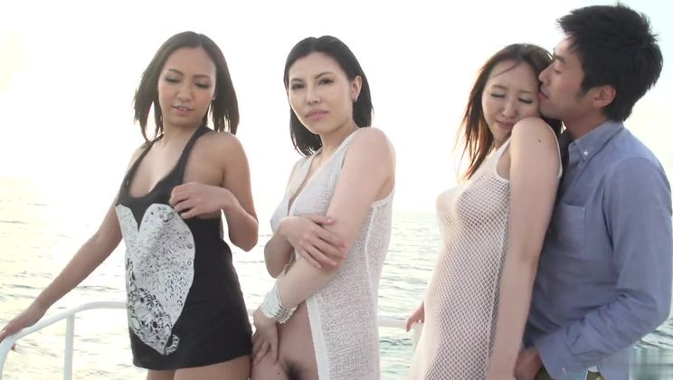 Asian porn video featuring Sofia Takigawa, Ruka Ichinose and Kaede Niiyama