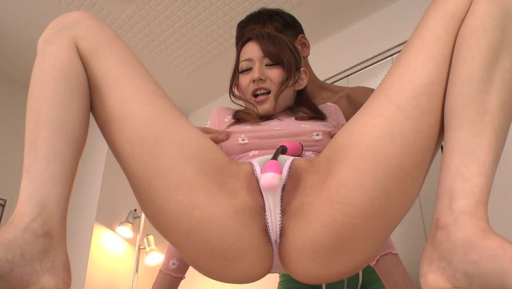 Awesome Japanese Reon Otowa in amazing fingering porn performance