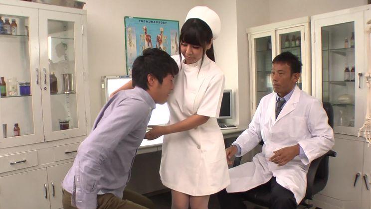 Supreme Japanese nurse Yu Shinohara blows the cock
