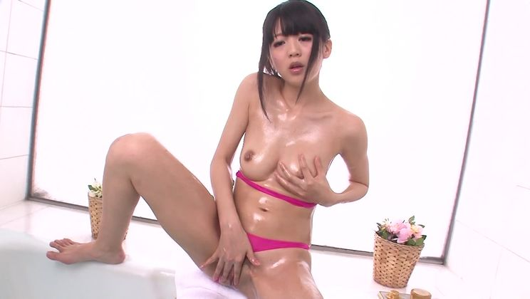 Unbelievable oriental Riisa Minami in hot masturbation sex video