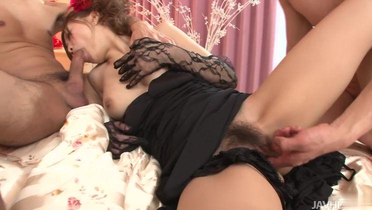 Seductive oriental Suzuka Ishikawa featuring cocksucking video