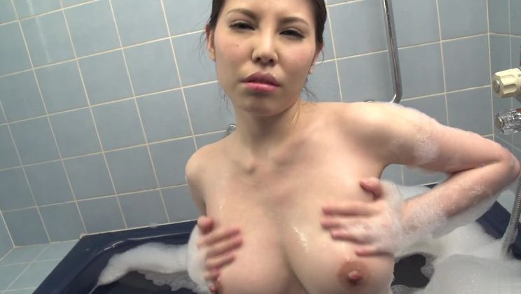 Marvelous busty asian Sofia Takigawa on real homemade porn video