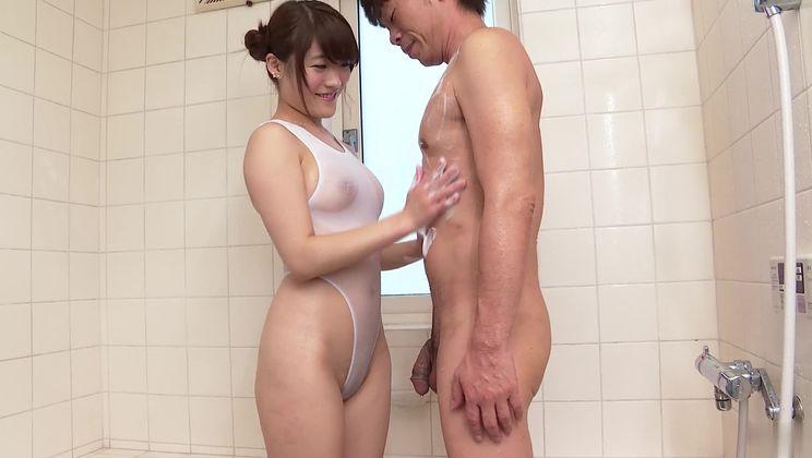 Snazzy Japanese Hina Makimura having a passionate masturbation