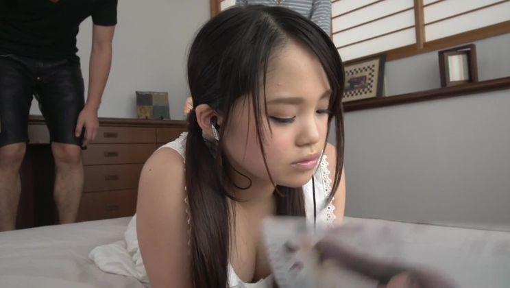 Incredible Japanese Risa Oomomo is sucking my penis
