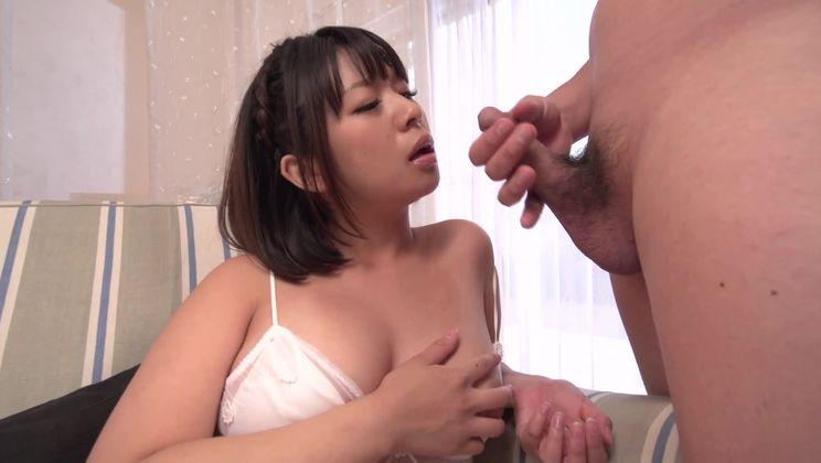 Unearthly oriental Wakaba Onoue in handjob porn video