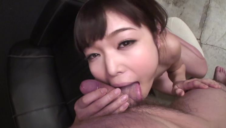 Divine Japanese Megumi Shino comes with a blowjob