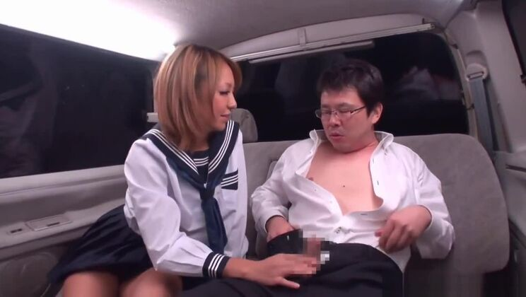 Hot yellow-haired asian hussy
