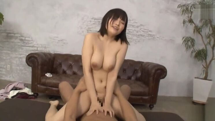 Charming busty Japanese huzzy in great amateur porn