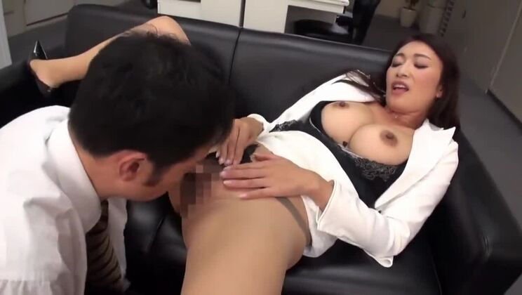 Admirable Japanese bitch in behind the scenes video