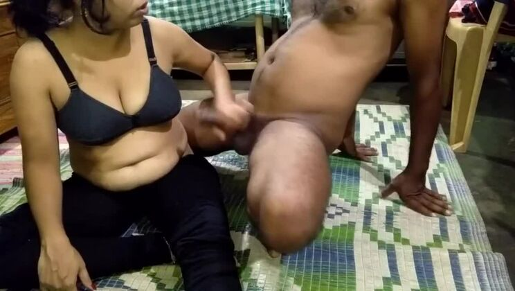 Teasing breasty maried female in amateur porn