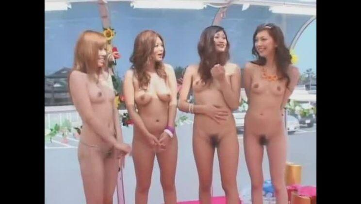 Group sex sex video featuring Moe Oishi, Asahi Miura and Miki Yamashiro