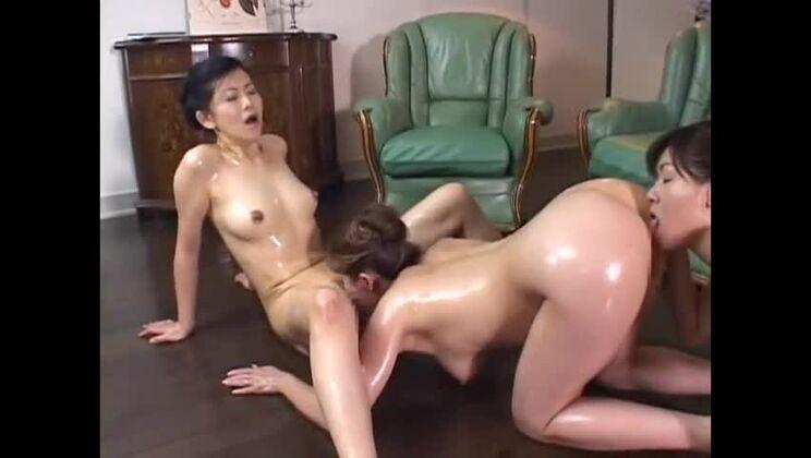 JAV sex video featuring Yumi Kazama, Maika Asai and Noriko Enomoto