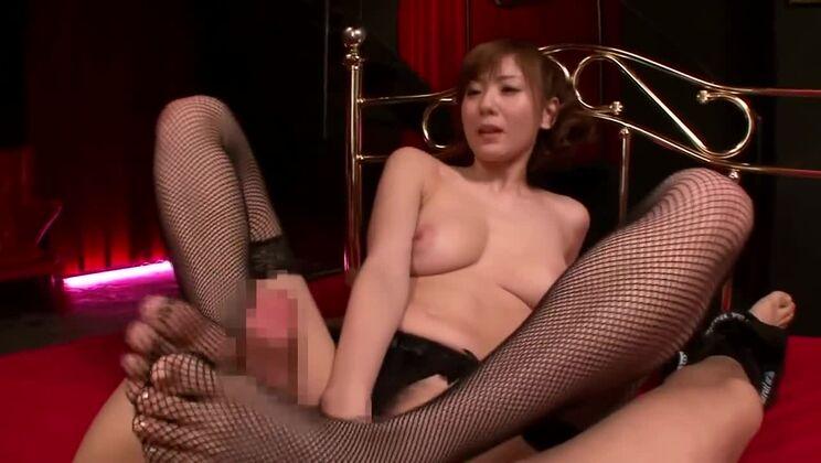 Nice busty oriental Yuma Asami get real hard fuck