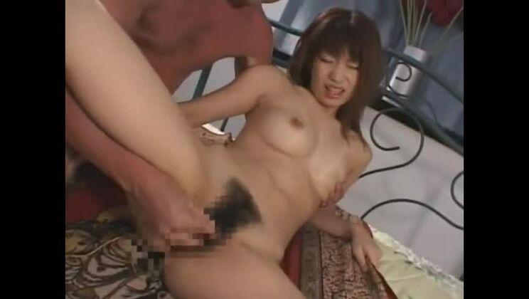 Cute buxomy Japanese Hikari Hino getting cumshot on her face