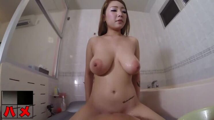 Awesome busty asian gal