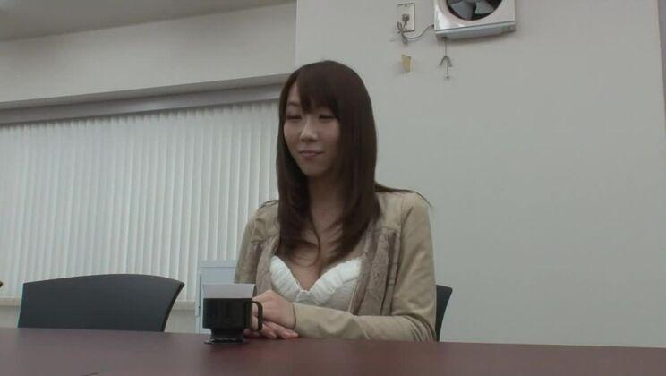 Godlike small titted Japanese Hitomi Oki