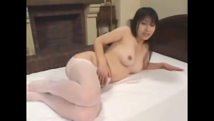 Good-looking Japanese lady making some femdom