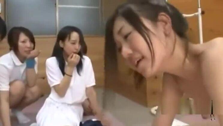 Godly Japanese whore get real hard fuck
