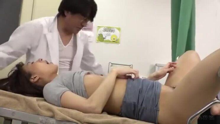 Amazing buxomy Japanese tart in ultra glam fetish fun