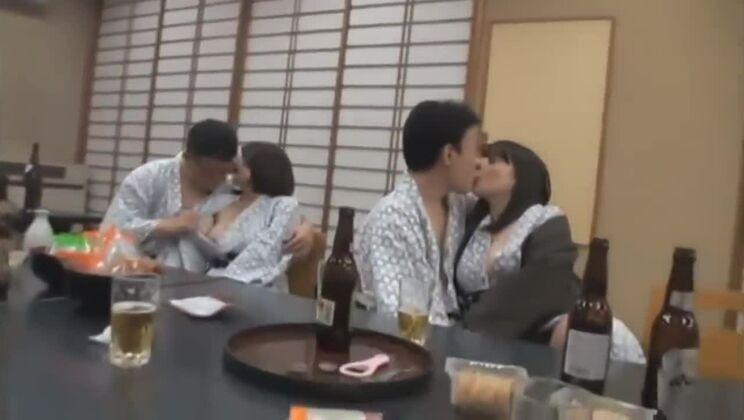 Sexy Japanese bitch has been gangbanged