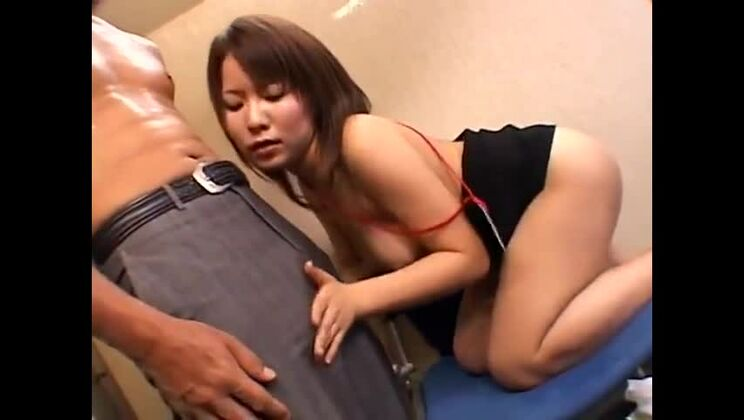 Unearthly Japanese female in brutal gangbang