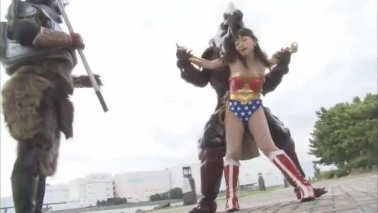 Godlike girl acting in hot cosplay XXX video