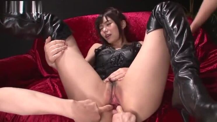 Adorable Japanese Megumi Shino in beautiful lingerie porn