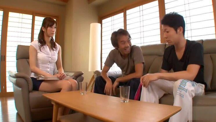 Godly buxomy Japanese Azusa Nagasawa got hard hammered