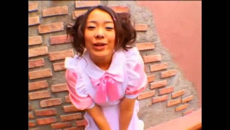 Outdoor porn video featuring Fuka Nanasaki, Mei Hiragi and Mina Manabe