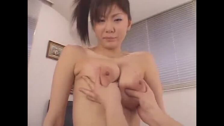 Awesome busty Japanese Yuma Asami