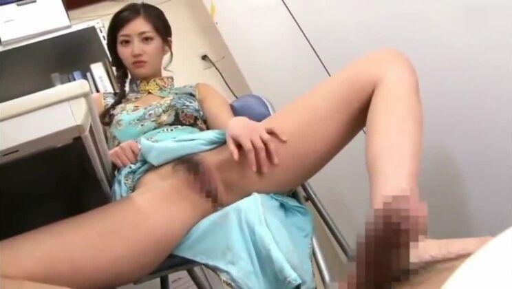 Ambrosial oriental girl in a kinky sex video