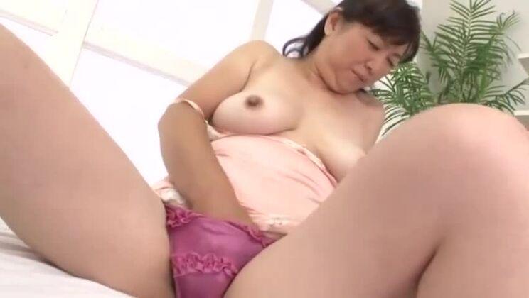 Marvelous oriental wife Miyuki Tamura