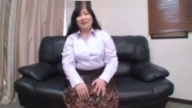 Alluring fat Japanese slut