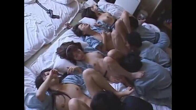 Group sex sex video featuring Ryo Akanishi, Yuna Hoshi and Maria Ozawa