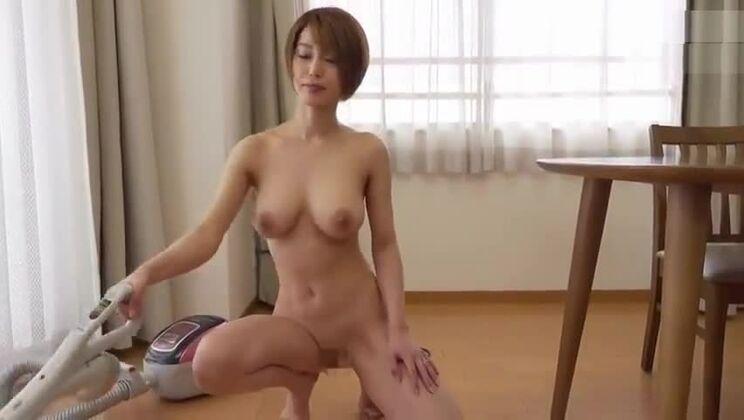 Ambrosial Japanese whore is getting mass bukkake