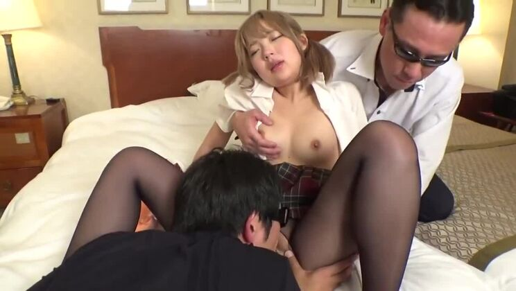 Honey Japanese huzzy in best ever amateur porn tape