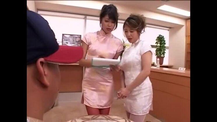 Amateur sex video featuring Yumi Kazama and Yuna Hoshi