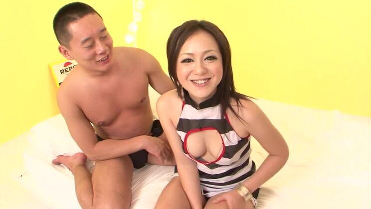 Group sex porn video featuring Rui Natsukawa and Balloon