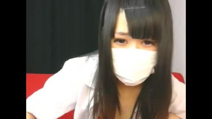 Incredible Japanese gal performing a medical examination