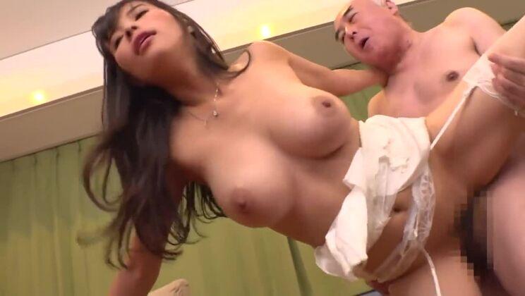 Awesome buxomy oriental maried woman Hibiki Otsuki
