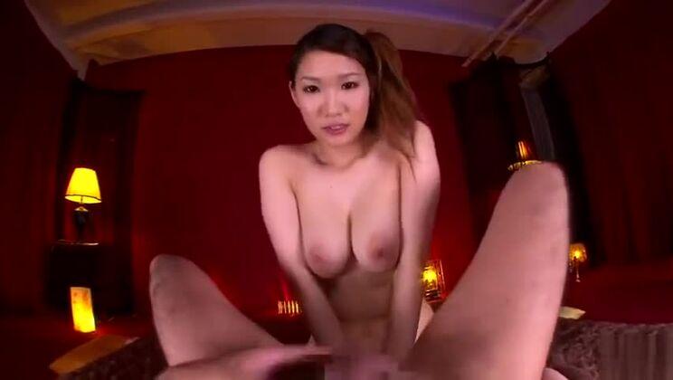 JAV sex video featuring Akari Asakiri and Mikuni Maisaki