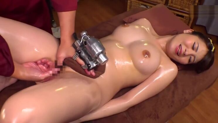 Supreme busty Japanese hussy in kinky porn video