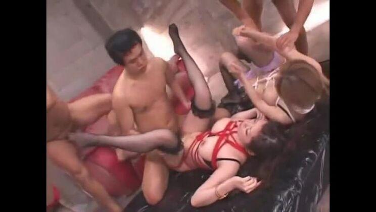 Crazy Japanese girl Nao Mizuki, Kurumi Kanno, Natsumi Horiguchi in Best Big Tits, Doggy Style JAV clip