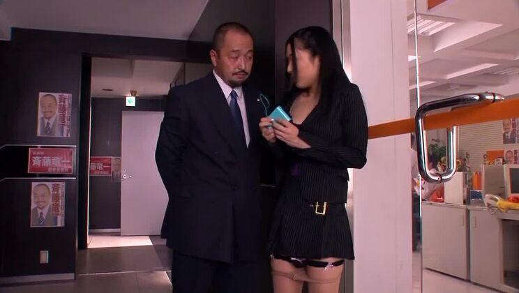Sora Aoi - Submissive Secretary (1/2)