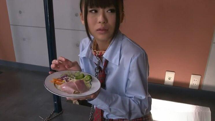 Incredible Japanese chick Chika Ishihara in Exotic JAV uncensored Blowjob movie