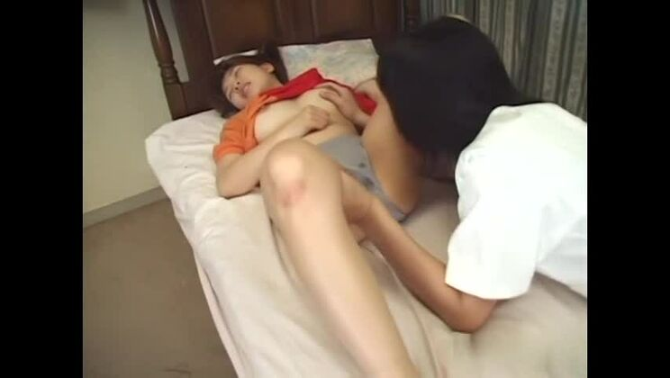 Incredible Japanese chick in Exotic JAV uncensored Blowjob movie