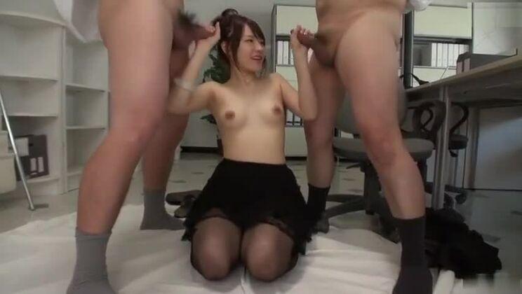Cock sucking porn video featuring Yui Uehara